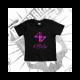 Camiseta Manga Corta Bebé (Negra)