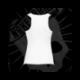 Camiseta Espalda Nadadora Niña (Blanca)