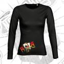Camiseta Manga Larga Chica