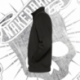 Sudadera con Cremallera Unisex (Negra)
