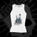 Camiseta Espalda Nadadora Mujer (Blanca)