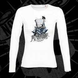 Camiseta Manga Larga Mujer (Blanca)