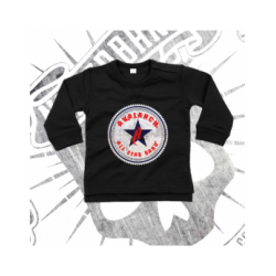 T-Shirt | Long Sleeve | Baby (Black)