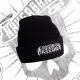 Gorro de lana con diseño Old English logo
