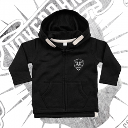 Zip Up Hoodie | Baby (Black)