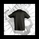Camiseta Manga Corta Niño (Negra)