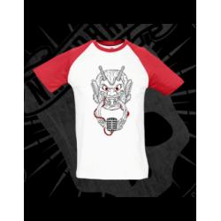 T-Shirt | Short Sleeve (Baseball Style) | Man (Black)