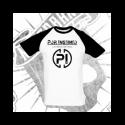 Camiseta Manga Corta Baseball Hombre (Manga Negra)