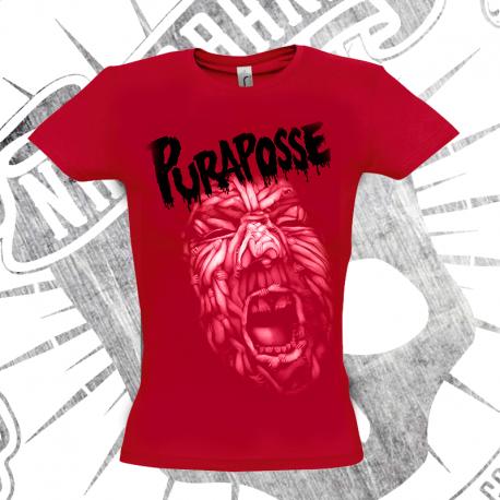 Camiseta Manga Corta Mujer (Roja)