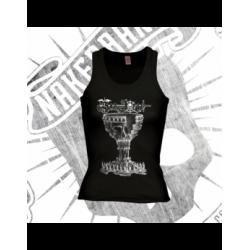 T-Shirt | Swimming Back | Girls (Black)