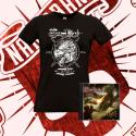 "PACK: CD ""MYTH"" + Camiseta de Manga Corta (Mujer)"