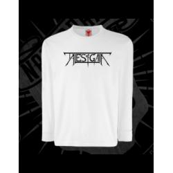 T-Shirt | Long Sleeves | Kids (White)