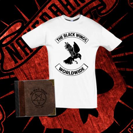 "PACK ""Devil´s Deal"" 1 -Camiseta Manga Corta + CD ""Devil´s Deal"""