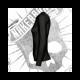 Camiseta Manga Larga Mujer (Negra)