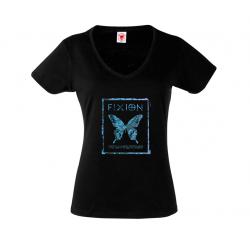 Camiseta Manga Corta Cuello V Chica