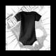 Body Manga Corta (Negro)