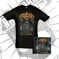 "PACK: T-Shirt + CD: ""Complete Obliteration"" [2018]"