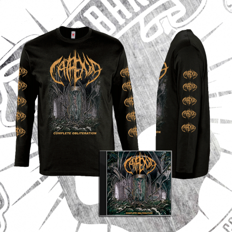 "PACK: Camiseta Manga Larga + CD: ""Complete Obliteration"" [2018]"