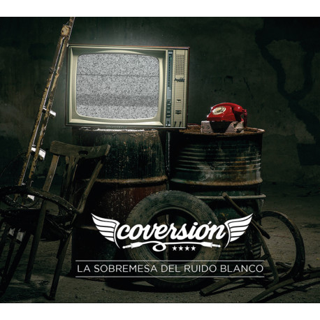 """CD: Coversión - """"La Sobremesa Del Ruido Blanco"""" (2018)"""