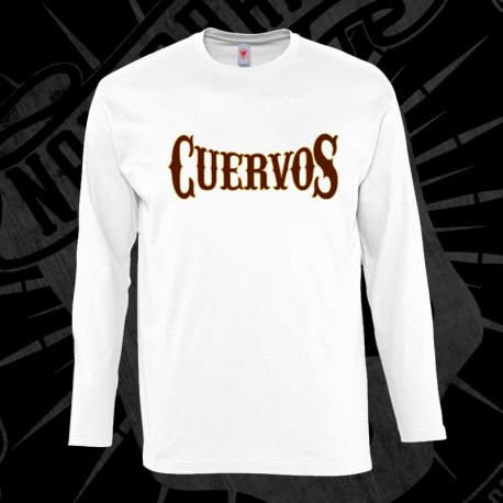Nakerband Merchandising Manga Cuervos En Larga Oficial Camiseta w78YpqY 943a3425662
