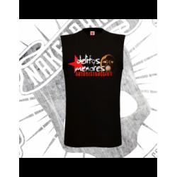 Camiseta Sin Mangas Hombre (Negra)