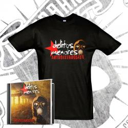 "Pack CD ""Autodestrucción"" + Camiseta Manga Corta"