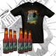 "Pack: 6 x Botellas de Cerveza + Camiseta ""VENENO"" (Tallas Grandes)"