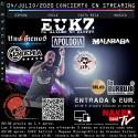 (04-07-20) E.U.K.Z. en Streaming | Nakeband TV