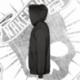 Sudadera con Capucha Unisex (Negra)