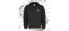 Zip Up Hoodie | Unisex (Black)