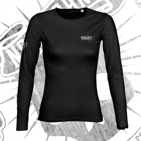 T-Shirt | Long Sleeve | Woman (Black)