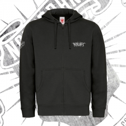 Zip Up Hoodie | Unisex (Black)