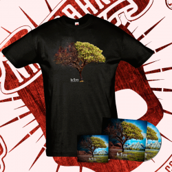 """PACK: Cd """"Re-evolución"""" + Camiseta Manga Corta (Hombre) + Pegatina"""