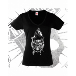 T-Shirt   Short Sleeve (V-neck)   Woman