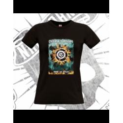 Camiseta Manga Corta Mujer (Negra)