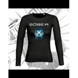 T-Shirt | Long Sleeve | Woman (Black)