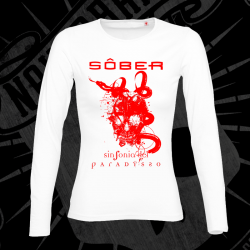 T-Shirt | Long Sleeve | Woman (White)