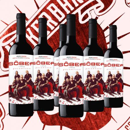 """Pack: 6 x Botellas de Vino: Ed. Especial """"Paradysso""""(GASTOS DE ENVÍO INCLUIDOS EN EL PRECIO)"""