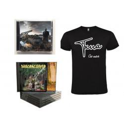 PACK 2 CD Renacer + Camiseta + discografía de Desconcierto