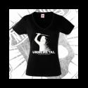Camiseta Manga Corta Cuello V Mujer